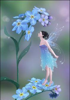Virgo Birthstone and Flower   Günün Resmi: Peri Kızı (UNUTMA BENİ)