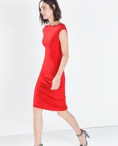 ZARA - WOMAN - BOATNECK TUBE DRESS