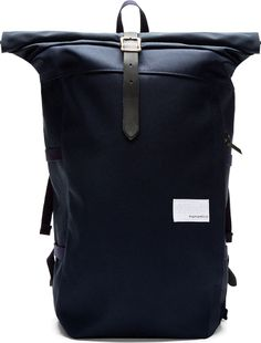 Nanamica Navy Roll-Top Cycling Backpack on shopstyle.com