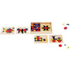 Pattern Blocks and Boards Set
