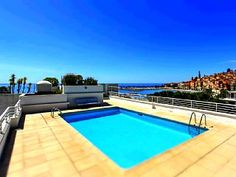 Beautiful+Apartment+At+Seafront+With+Rooftop+Swimming+Pool+++Holiday Rental in Menton Area from @HomeAwayUK #holiday #rental #travel #homeaway
