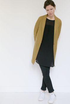 Veste ou manteau femme France Duval Stalla patron de couture pochette avec  vidéo gratuite 98595a55e126
