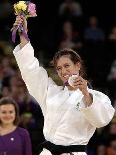 Lúcia Teixeira - medalha de prata - Foto: Patricia Santos/CPB/Divulgação