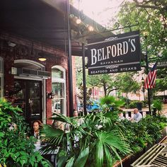 Be sure to have a meal at Belford's when you're in Savannah! Their crabcakes are so good!