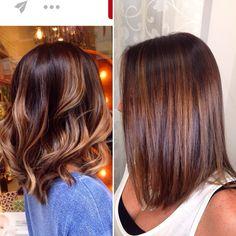 Short Hair Color Highlights, Blonde Brown Hair Color, Summer Blonde Hair, Brown Hair Balayage, Brunette Hair, Brunette Color, Honey Hair, Gorgeous Hair, Beautiful
