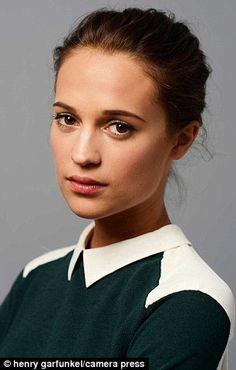 Spotlight: All eyes will be on Swedish actress Alicia Vikander in 2015 #dailymail
