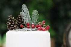 Bella Fiore Decoração de Eventos: Workshop de Natal 2015 - Mesa de bolos e doces