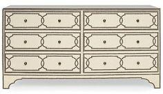 Cabrillo Nailhead Dresser is a modern storage dresser by Bernhardt. This dresser… Upholstered Furniture, Bedroom Furniture, Furniture Logo, Mirrored Furniture, Furniture Removal, Retro Furniture, Upcycled Furniture, Bedroom Decor, Chest Dresser