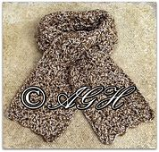 Ravelry: Chunky Keyhole Scarf and Slouchy Hat pattern by ag handmades