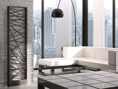 Hot-water electric steel decorative radiator