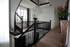 Trapleuning balustrade hout google zoeken trap pinterest - Ideeen deco trappen ...