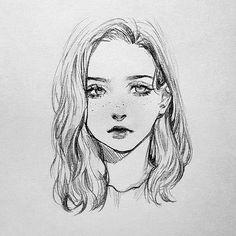 . 📒 ✏ - - - #chica #girl #rostro #face #geek #dibujo #draeing #pencil #lapiz #pencilart #art #artwork #artist #croquera #croquis #draw #drawings #worlartfeature #ilustration #ilustracion #hobby #pasatiempo #vida #life