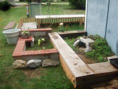 Outdoor Habitat for Tortoise | Russians*2.5 Homes Hingebacks*1.4 Redfoots*0.1 Jordanian/Antakyan ...