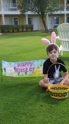 Easter Sunday Egg Scavenger hunt & Facepainting 2016 at Sunshine Suites Resort.