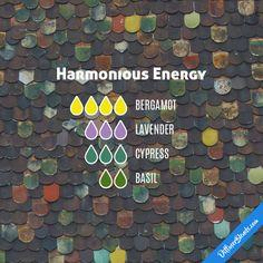 Harmonious Energy - Essential Oil Diffuser Blend