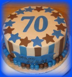 70th Birthday Cake For Men Adult Cakes Pictures