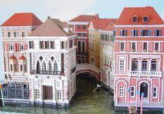 Venice Canal Scene - Gene Gill