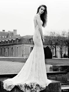 Breathtaking wedding gowns from Berta 2013 bridal collection.