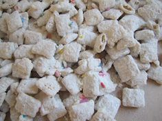 Adventures in Food: Funfetti Cake Batter Puppy Chow