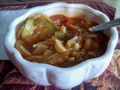 """""""End of Summer"""" Harvest Slow Cooker Soup @ My Tasty Journey"""