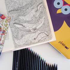 Ready to start coloring some beautiful whales! By colorme.life