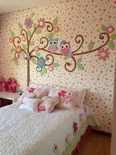 Cute Girls Bedroom Design : Little Girls Bedroom Design – Better Home and Garden