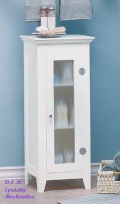 bathroom cabinets narrow