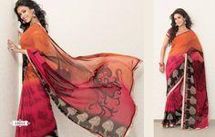 Indian Summer Sassy Sari in Desert Shades by SassySaris on Etsy, $56.00