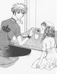 Fruits Basket Haru And Kisa