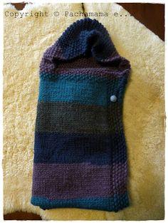 Pachamama e... : Sacco nanna per neonati a maglia