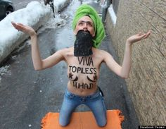 Topless Jihad Day... Muslim Women Against Femen: Facebook Group Takes on Activists in Wake of Amina Tyler Topless Jihad