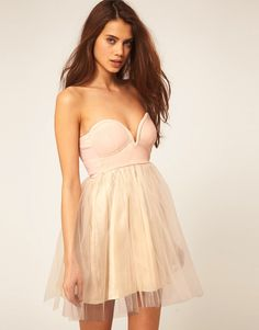 Inspired on pinterest ballerina dress bow heels and blush shoes