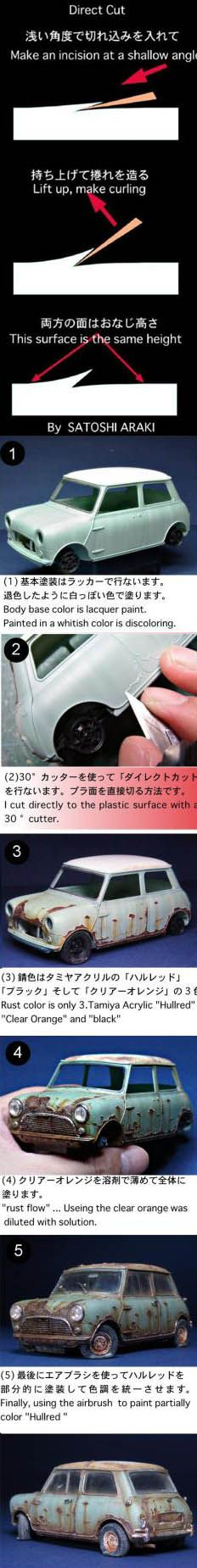How To Make Hinges For Your Model Car Doors And Trunks Model