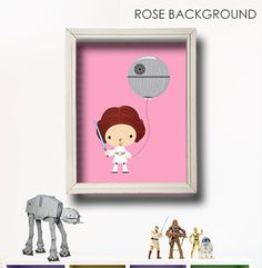 Star Wars Kids Art-Dark Vador - Star Wars Nursery - Baby Shower Gift - Girl Wall Art-Star Wars bébé-Death Star Wall Art-Jedi bébé chambre-IN019 on Etsy, 9,04€