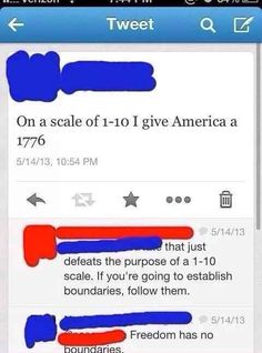 THE ONLY RATING SCALE WITH WHICH YOU CAN PROPERLY RATE AMERICA: | The 29 Most American Things That Have Ever Happened