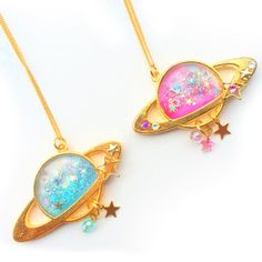 marushippo: 土星のネックレス