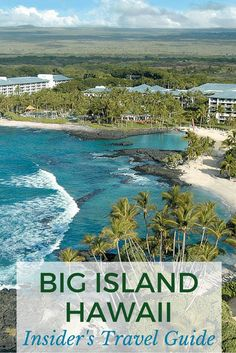 Big Island, Hawaii Insider's Travel Guide Your Big Island bucket list: a helicopter tour of Volcanoes National Park, waterfall swimming in the Waipio Valley, and discovering perfect white beaches. Honeymoon Vacations, Hawaii Honeymoon, Hawaii Vacation, Beach Trip, Vacation Trips, Vacation Spots, Beach Travel, Vacation Ideas, Vacation Destinations