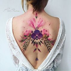 Best Tattoos On The Back That Will Make You Look Stunning; Back Tattoos; Tattoos On The Back; Back tattoos of a woman; Little prince tattoos; Floral Back Tattoos, Girl Back Tattoos, Back Tattoos For Guys, Flower Tattoo Back, Back Tattoo Women, Feminine Tattoos, Flower Tattoo Designs, Trendy Tattoos, Tattoo Girls