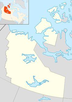 nunavut map communities