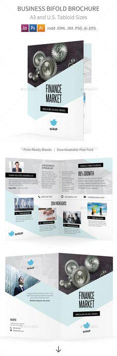 Corporate/Multipurpose Business Brochure Business, Brochures and - half fold brochure template