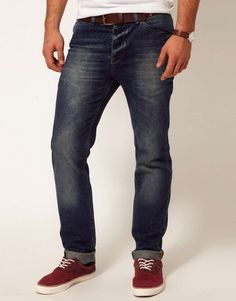 ASOS | Slim Jeans With Mid Wash #jeans #menswear