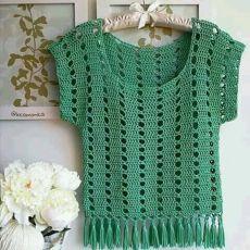 Débardeurs Au Crochet, Pull Crochet, Gilet Crochet, Mode Crochet, Crochet Pumpkin, Crochet Jacket, Crochet Woman, Crochet Cardigan, Easy Crochet