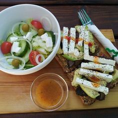 Mr. Mozzie's biltong tastes lekker with avocado and feta on a sandwich