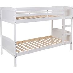 Buy Francis Single Bunk Bed Frame - White at Argos.co.uk - Your Online Shop for Children's beds, Children's beds.