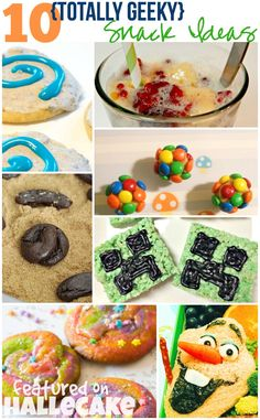 10 totally geeky snack ideas