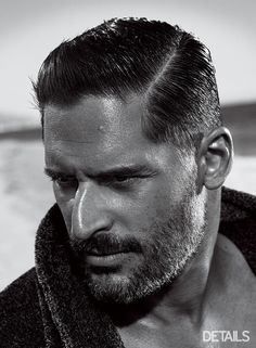 Joe Manganiello looks awfully good in black and white... Such a stud. Check out the sexiest pictures and some candid quotes from his feature in DETAILS!