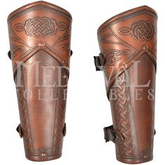 Celtic Mantikor Leather Bracers - MY100415 by Medieval Collectibles