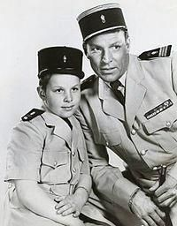 """Captain Gallant of the Foreign Legion"" - Early kid's TV show starring Buster Crabbe and his son, Cubby - 1950's."