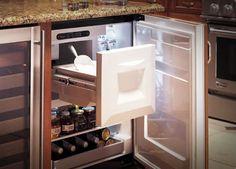 GE Monogram Bar Refrigerator w Ice Maker eBay For the