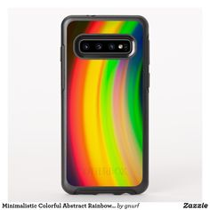 Shop Minimalistic Colorful Abstract Rainbow Photo Art OtterBox Samsung Galaxy Case created by gnurf. Rainbow Photography, Fort Collins, Abstract Photos, Cell Phone Cases, Photo Art, Things To Come, Samsung Galaxy, Minimalist, Colors